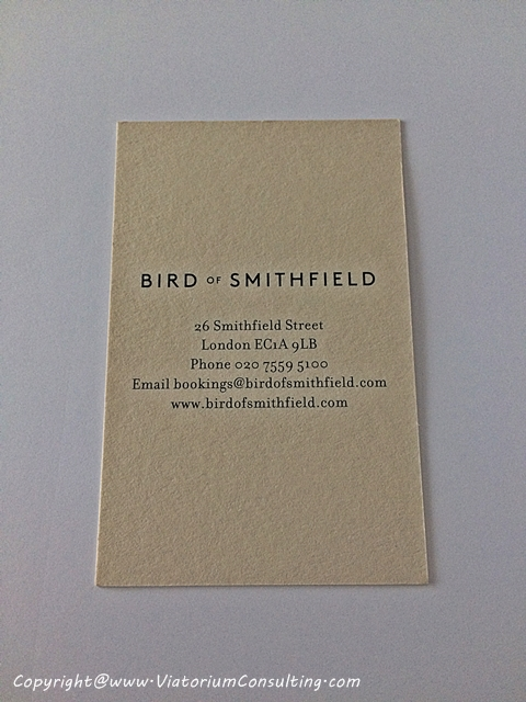 bird of smithfield vcard